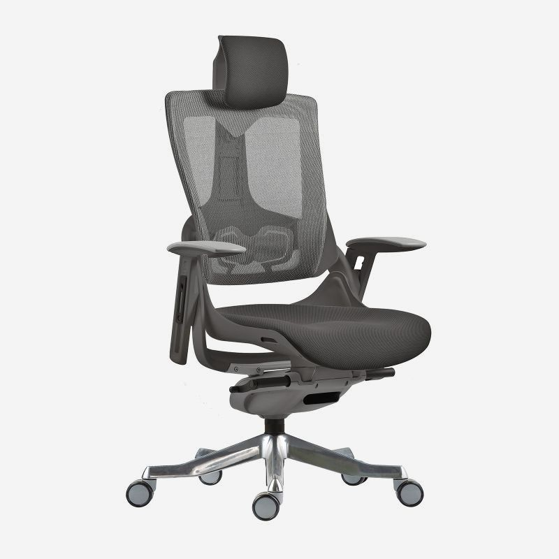 Wau Mesh Executive Chair With Headrest And Lumbar Support